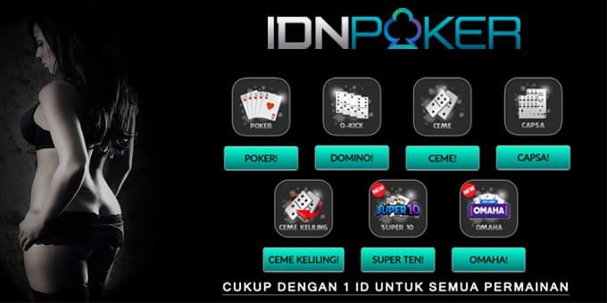 Daftar Poker Online Agen Judi Resmi IDN Poker - Daftar ...