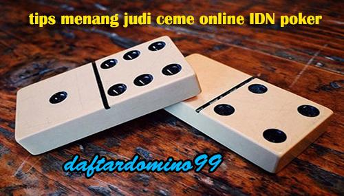 judi ceme online
